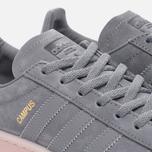 Женские кроссовки adidas Originals Campus Grey Three/Grey Three/Ice Pink фото- 3