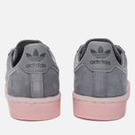 Женские кроссовки adidas Originals Campus Grey Three/Grey Three/Ice Pink фото- 5