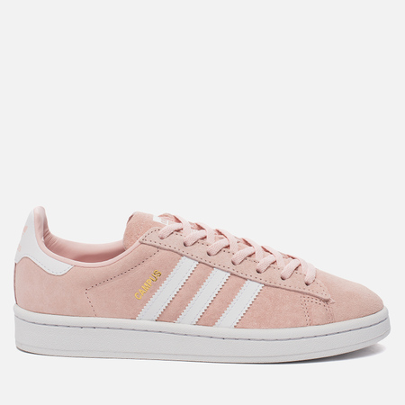 Женские кроссовки adidas Originals Campus Icey Pink/ White/Crystal White