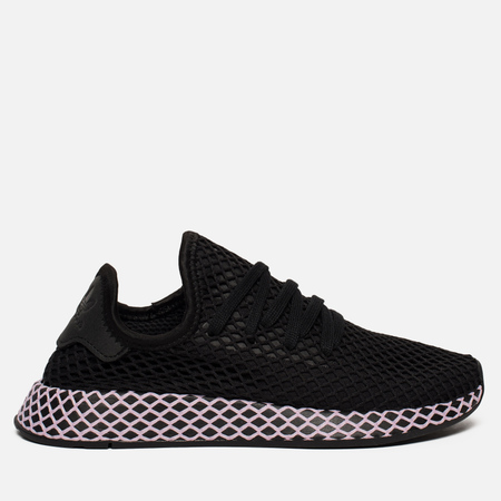 Женские кроссовки adidas Originals Deerupt Core Black/Core Black/Clear Lilac