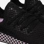 Женские кроссовки adidas Originals Deerupt Core Black/Core Black/Clear Lilac фото - 3