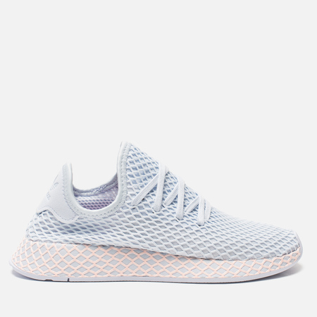 Женские кроссовки adidas Originals Deerupt Runner Aero Blue/Aero Blue/Clear Orange