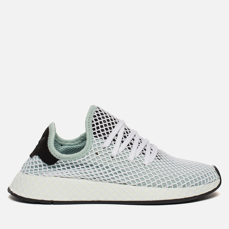 Женские кроссовки adidas Originals Deerupt Runner Ash Green/Ash Green/Core Black