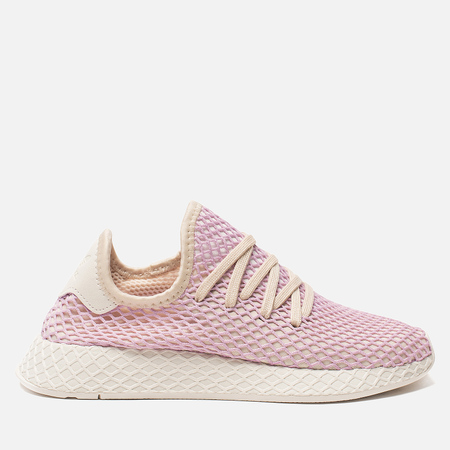 Женские кроссовки adidas Originals Deerupt Runner Linen/Linen/Clear Lilac