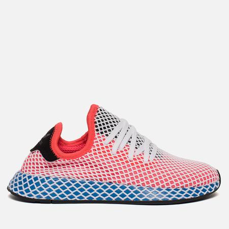 Женские кроссовки adidas Originals Deerupt Runner Solar Red/Solar Red/Blue Bird