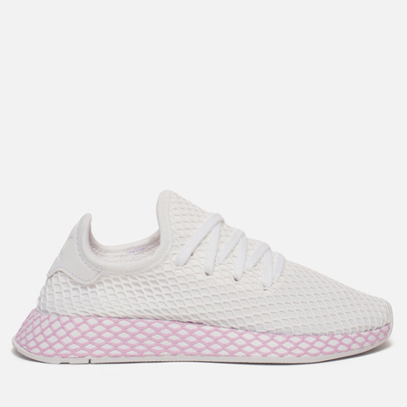 Женские кроссовки adidas Originals Deerupt White/White/Clear Lilac