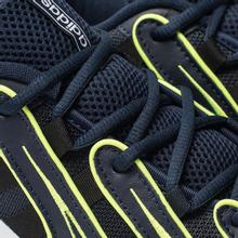 Женские кроссовки adidas Originals EQT Gazelle Collegiate Navy/Silver Metallic/Solar Yellow фото- 6