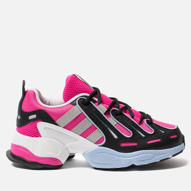 Женские кроссовки adidas Originals EQT Gazelle Shock Pink/Core Black/Glow Blue