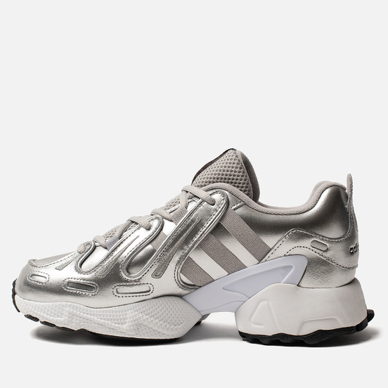 Женские кроссовки adidas Originals EQT Gazelle Silver Metallic/Silver Metallic/White
