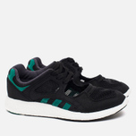 Женские кроссовки adidas Originals EQT Racing 91/16 Black/Green/White фото- 1