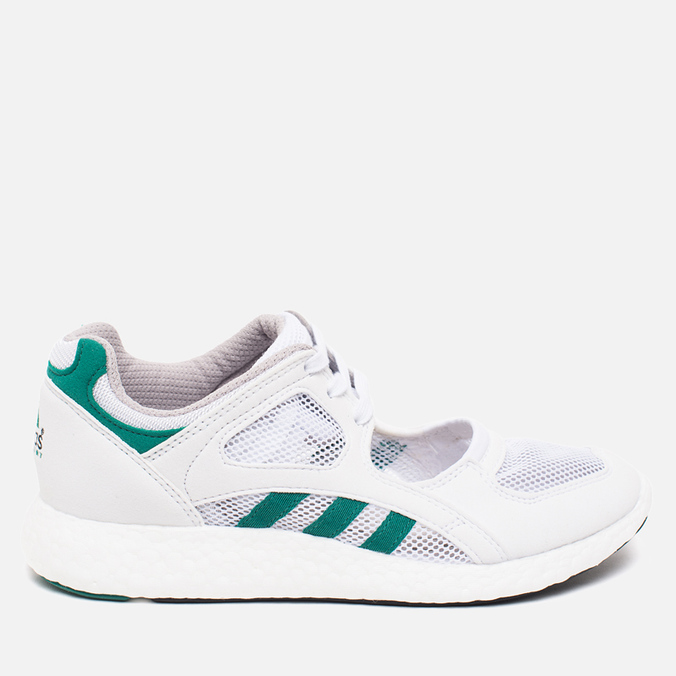 Женские кроссовки adidas Originals EQT Racing 91/16 White/Green/Core Black