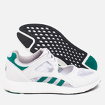 adidas Originals EQT Racing 91/16 Women's Sneakers White/Green/Core Black photo- 2