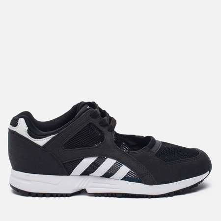 Женские кроссовки adidas Originals EQT Racing 91 Core Black/White/Sub Green