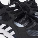 Женские кроссовки adidas Originals EQT Racing 91 Core Black/White/Sub Green фото- 3