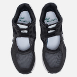 Женские кроссовки adidas Originals EQT Racing 91 Core Black/White/Sub Green фото- 4