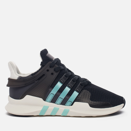 Женские кроссовки adidas Originals EQT Support ADV Core Black/Clear Aqua/Granite