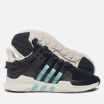 Женские кроссовки adidas Originals EQT Support ADV Core Black/Clear Aqua/Granite фото- 2