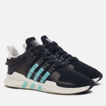 Женские кроссовки adidas Originals EQT Support ADV Core Black/Clear Aqua/Granite фото- 1