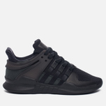 Женские кроссовки adidas Originals EQT Support ADV Core Black/Core Black/Sub Green фото- 0