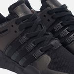 Женские кроссовки adidas Originals EQT Support ADV Core Black/Core Black/Sub Green фото- 3