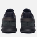 Женские кроссовки adidas Originals EQT Support ADV Core Black/Core Black/Sub Green фото- 5