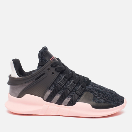 Женские кроссовки adidas Originals EQT Support ADV Core Black/Trace Grey/Ice Purple