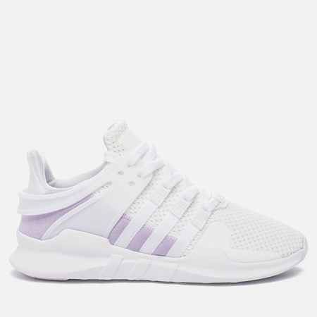 Женские кроссовки adidas Originals EQT Support ADV White/White/Purple Glow