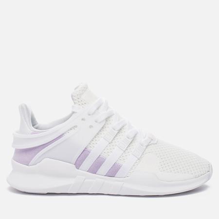 Женские кроссовки adidas Originals EQT Support ADV White/White/Purple Glow