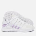 Женские кроссовки adidas Originals EQT Support ADV White/White/Purple Glow фото- 1
