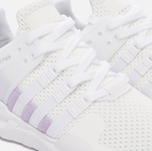 Женские кроссовки adidas Originals EQT Support ADV White/White/Purple Glow фото- 3