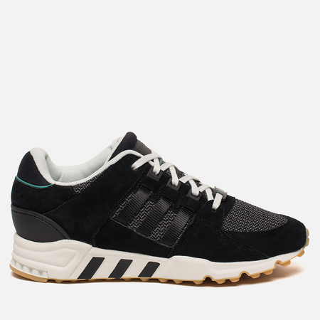 Женские кроссовки adidas Originals EQT Support RF Core Black/Core Black/Sub Green