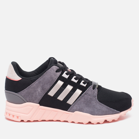 Женские кроссовки adidas Originals EQT Support RF Core Black/Ice Purple/Haze Coral