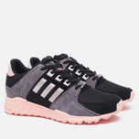 Женские кроссовки adidas Originals EQT Support RF Core Black/Ice Purple/Haze Coral фото- 2