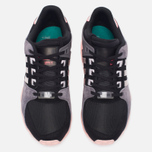 Женские кроссовки adidas Originals EQT Support RF Core Black/Ice Purple/Haze Coral фото- 4