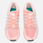 Женские кроссовки adidas Originals EQT Support RF Haze Coral/White/Turbo фото- 4