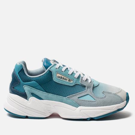 Женские кроссовки adidas Originals Falcon Blue Tint/Light Aqua/Ash Grey