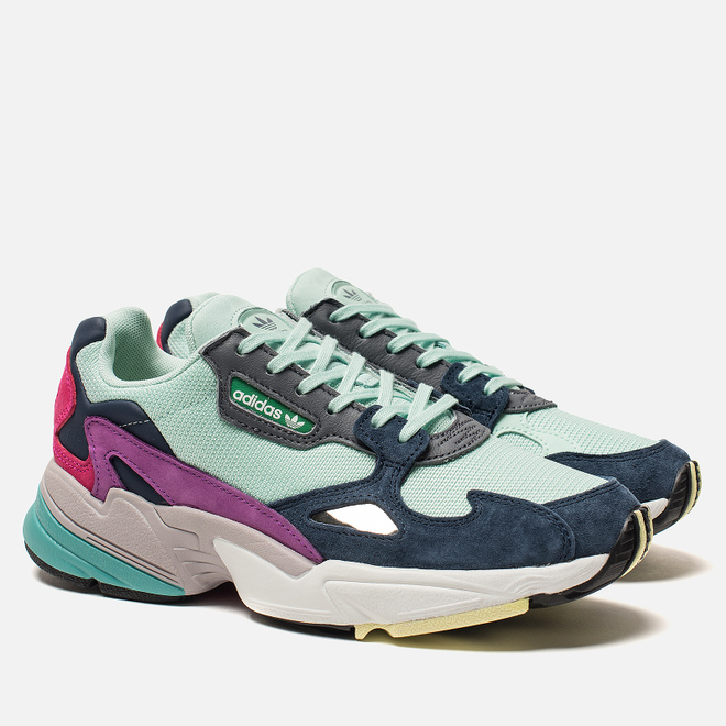 Женские кроссовки adidas Originals Falcon Clear Mint/Clear Mint/Collegiate Navy