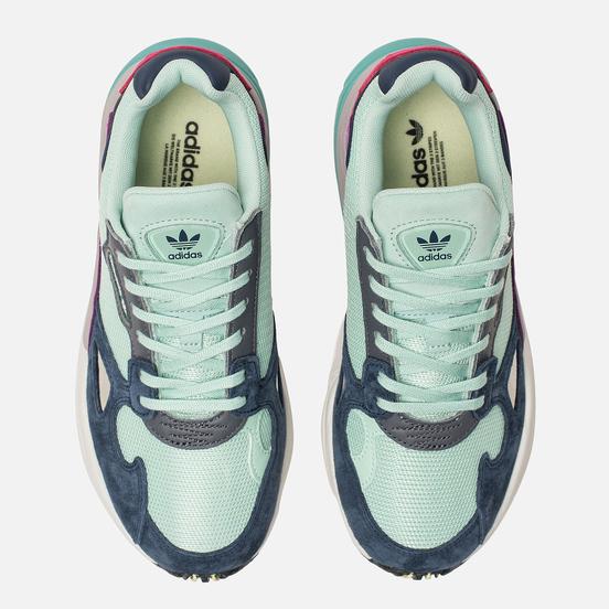 Женские кроссовки adidas Originals Falcon Clear Mint/Clear Mint/Collegiate Navy