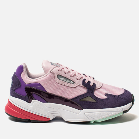 b79d40e4eaa7 Женские кроссовки adidas Originals Falcon Clear Pink Clear Pink Legend  Purple
