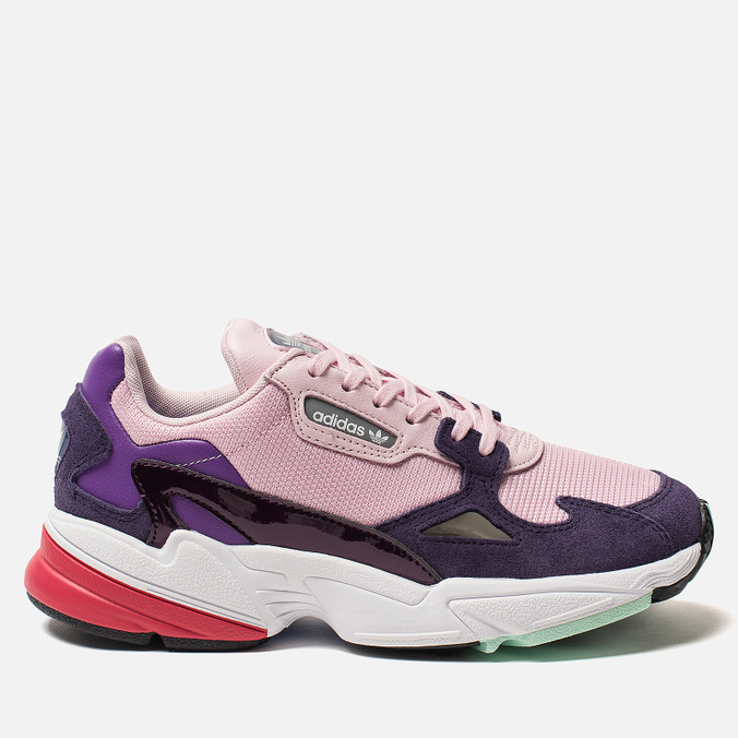 Женские кроссовки adidas Originals Falcon Clear Pink/Clear Pink/Legend Purple