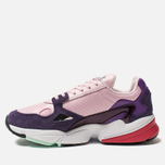 Женские кроссовки adidas Originals Falcon Clear Pink/Clear Pink/Legend Purple фото- 1