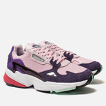 Женские кроссовки adidas Originals Falcon Clear Pink/Clear Pink/Legend Purple фото- 2