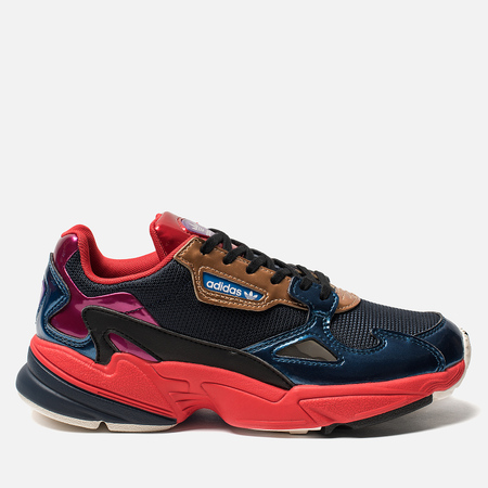 Женские кроссовки adidas Originals Falcon Collegiate Navy/Collegiate Navy/Red