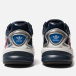 Женские кроссовки adidas Originals Falcon Collegiate Navy/Collegiate Navy/Silver Metallic фото- 3