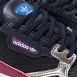 Женские кроссовки adidas Originals Falcon Collegiate Navy/Collegiate Navy/Silver Metallic фото- 6