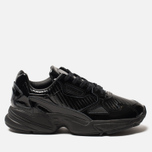 Женские кроссовки adidas Originals Falcon Core Black/Core Black/Core Purple фото- 0
