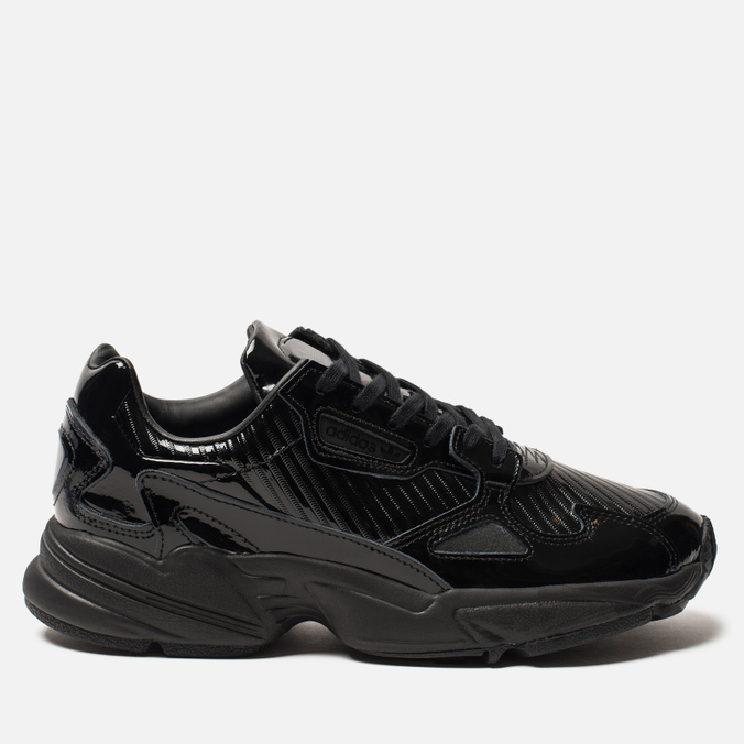 6c7127b180a420 Женские кроссовки adidas Originals Falcon Core Black/Core Black/Core Purple  ...
