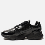 Женские кроссовки adidas Originals Falcon Core Black/Core Black/Core Purple фото- 1