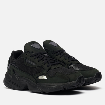 Женские кроссовки adidas Originals Falcon Core Black/Core Black/Grey Five