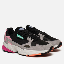 Женские кроссовки adidas Originals Falcon Core Black/Core Black/Light Granite